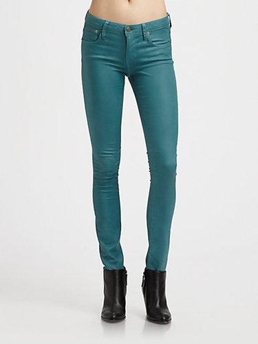 Helmut Lang HELMUT Helmut Lang Gloss-Wash Skinny Jeans