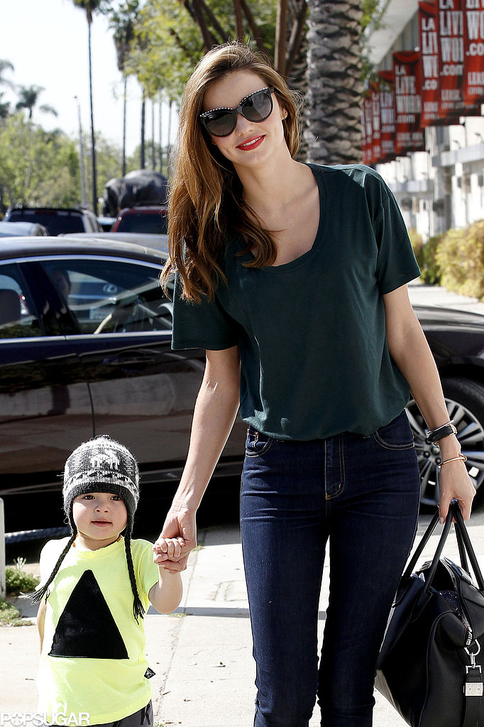Miranda Kerr and Orlando Bloom Spend Time With Flynn Amid Angel Rumors