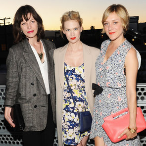 Katy Perry and January Jones at Coach Benefit | Pictures