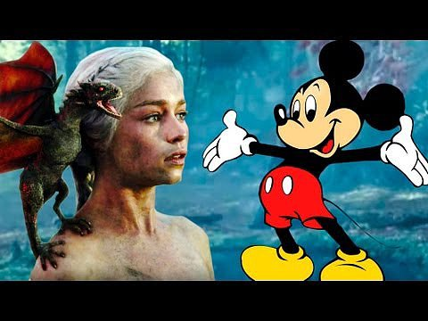 Daenerys as a Disney Princess