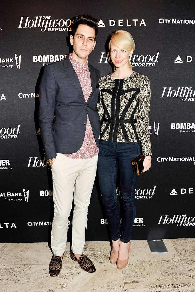 Gabe Saporta and Erin Fetherston at The Hollywood Reporter's 35 Most Powerful People in Media soiree. Photo: Elle Jota/BFAnyc.com