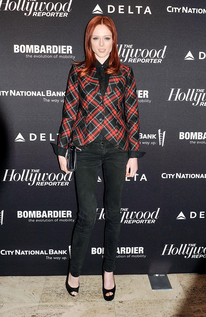Coco Rocha at The Hollywood Reporter's 35 Most Powerful People in Media soiree. Photo: Elle Jota/BFAnyc.com