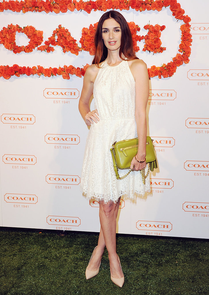 Paz Vega at Coach's third annual Evening of Cocktails and Shopping in Santa Monica.