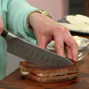 Honey-Basil Grilled Cheese Recipe | Video