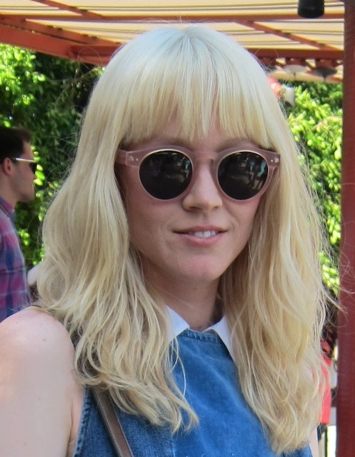 Heavy bangs are always a fun way to update your Summer style. Photo: Meg Cuna