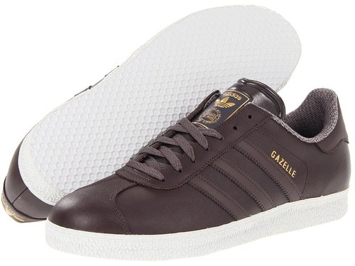 adidas Originals - Gazelle 2 - Leather (Urban Trail/Urban Trail/Light Grey) - Footwear