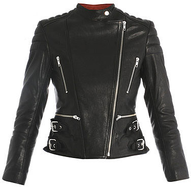 Rika Nova leather biker jacket