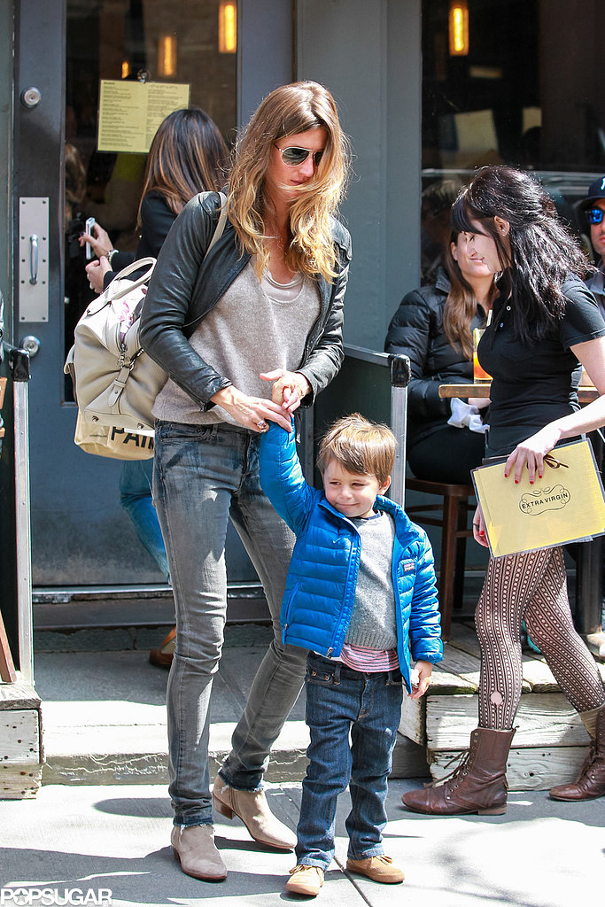 Gisele and Tom Reunite For a Family-Filled Weekend in NYC
