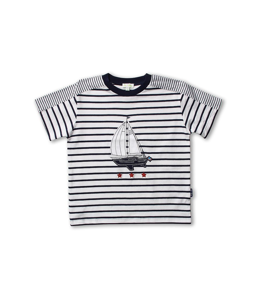 The ultimate summertime tee, this striped shirt ($26, originally $28) by Le Top comes in sizes for babies through bigger kids.