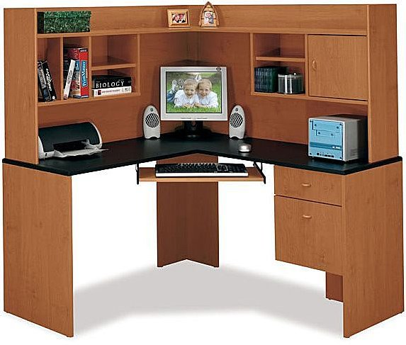 The Before: A Home Office Desk