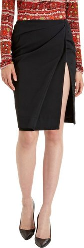 Altuzarra Gathered Slit Skirt Sale up to 60% off at Barneyswarehouse.com