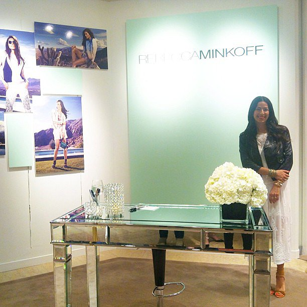 Rebecca Minkoff made a stylish stop in Tulsa, OK, for her Saks Fifth Avenue tour. Source: Instagram user rebeccaminkoff