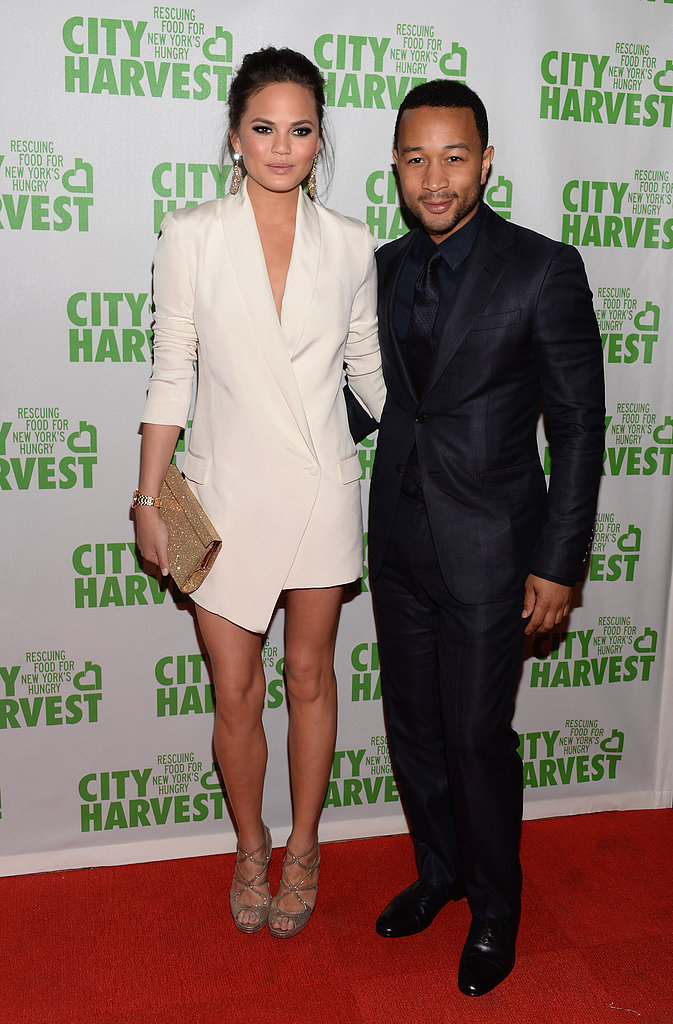 Chrissy Teigen and John Legend attended the fundraising event.