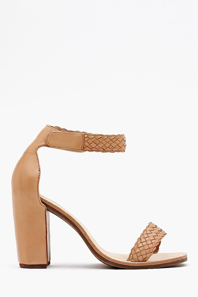 Rope detailing gives off a subtle bohemian vibe on Nasty Gal's Favor sandal ($130).