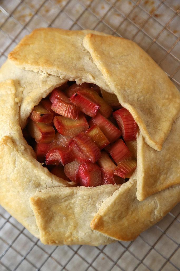 Rhubarb Galette