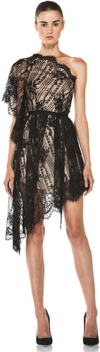 Lover Serenity Lace Dress in Black