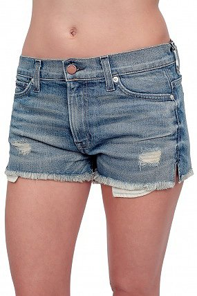 Elizabeth and James Annie Denim Shorts Torn