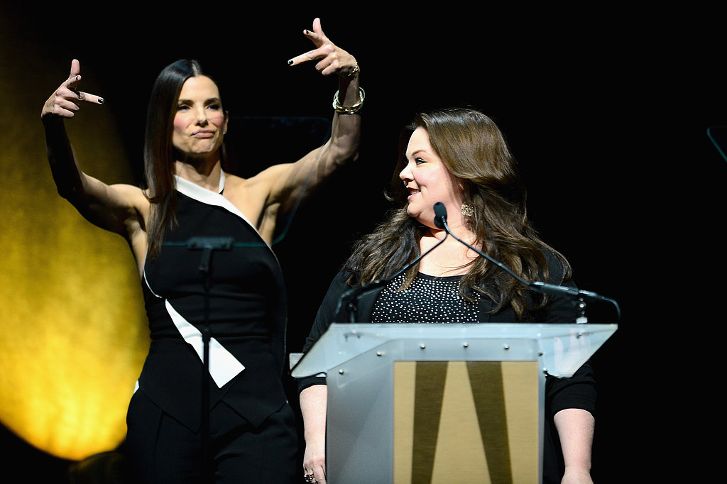 """Sandra Bullock and Melissa McCarthy Talk Their """"Love Connection"""" and Bring The Heat to Vegas"""