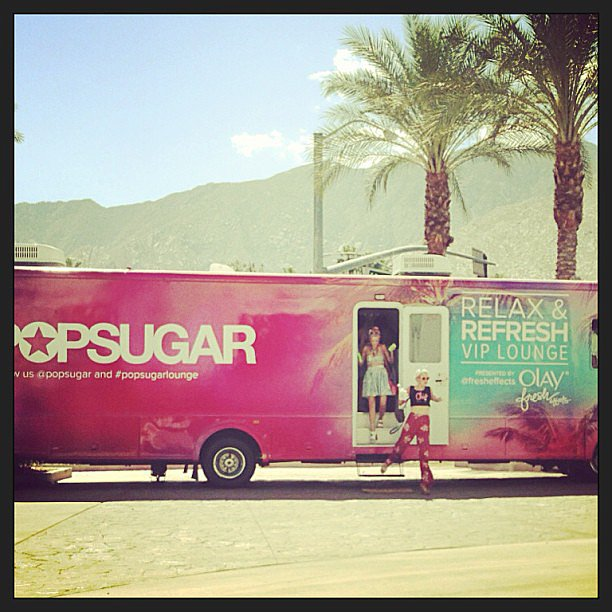 Hello, Coachella!  Source: Instagram user kelbel147