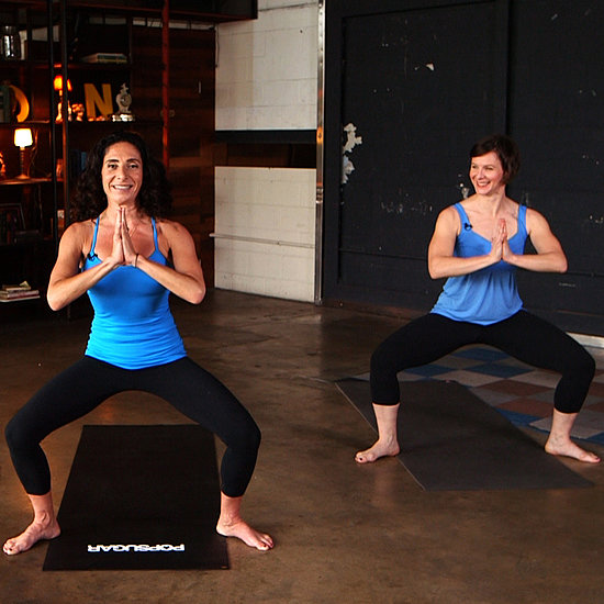10-Minute Yoga Workout With Jennifer Aniston's Yogi
