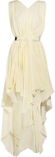 Vionnet Draped silk dress