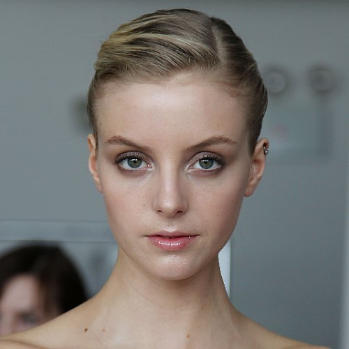 Bridal Fashion Week Hair & Beauty: Marchesa Smoky Eye