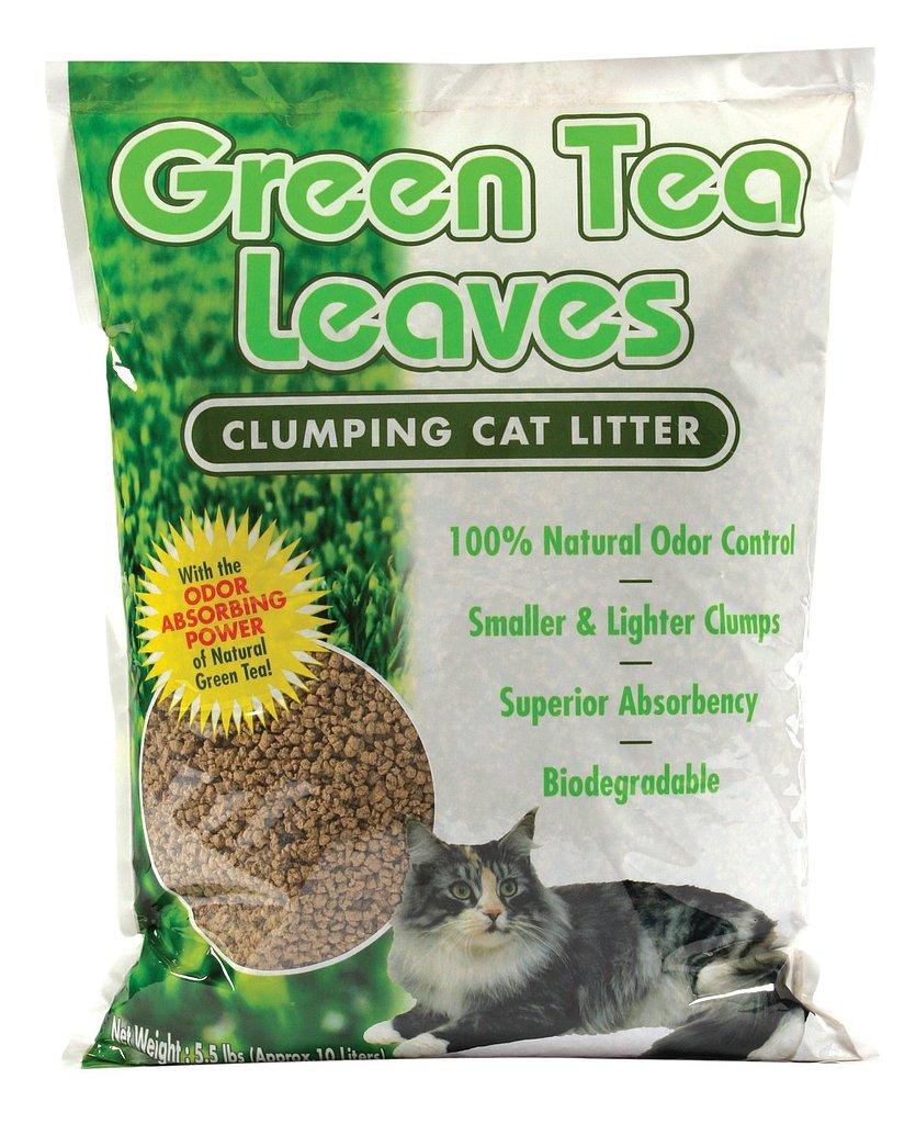 Natural Green Tea Leaves Cat Litter 10 Eco Friendly Pet