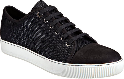 Lanvin Cap Toe Low Top Sneaker