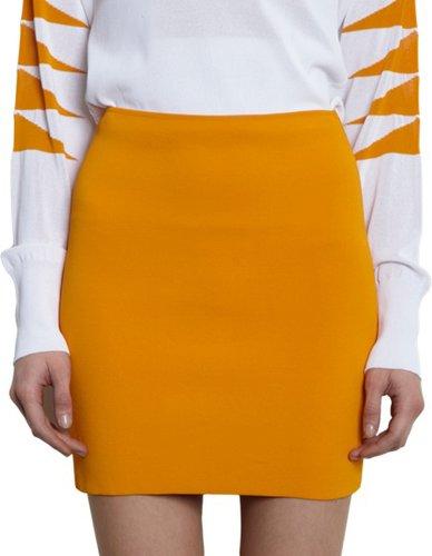 Mugler Knit Mini Skirt Sale up to 60% off at Barneyswarehouse.com