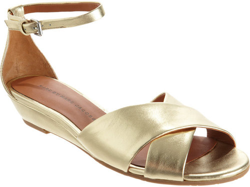 Marc by Marc Jacobs Criss-Cross Wedge Sandal