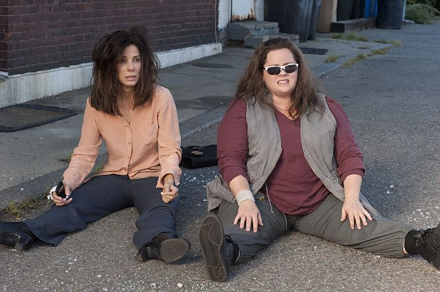 The Heat  Who's starring: Sandra Bullock and Melissa McCarthy Why we're interested: It's time for the ladies to show that they can make a funny buddy-cop movie, and there may not be a better pair suited for the job than Bullock and McCarthy. Plus, McCarthy is reuniting with her Bridesmaids director Paul Feig, and we already know those two can make beautiful comedy together. When it opens: June 28  Watch the trailer for The Heat.