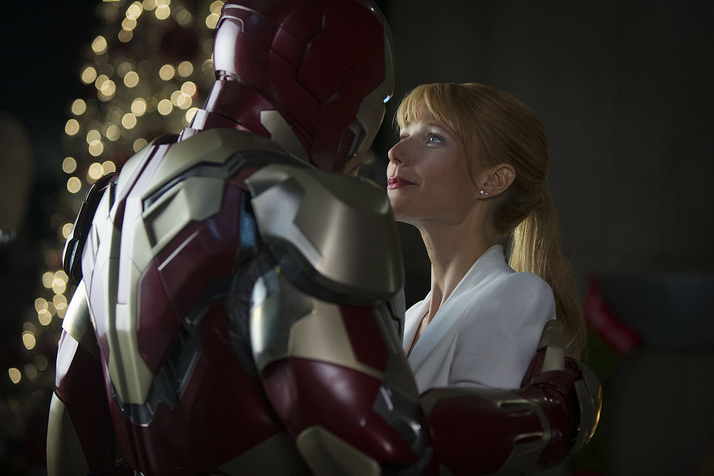 Iron Man 3  Who's starring: Robert Downey Jr., Gwyneth Paltrow, Guy Pearce, and Ben Kingsley Why we're interested: Tony Stark is less quippy and more emo in this installment, which has the life of his love, Pepper Potts, being threatened by a new villain. While we hope Pepper isn't sacrificed, we're even more invested in Stark getting his snark back. When it opens:  May 3 Watch the trailer for Iron Man 3.