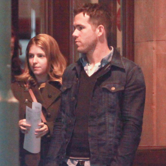 Ryan Reynolds at Dinner With Anna Kendrick in Berlin