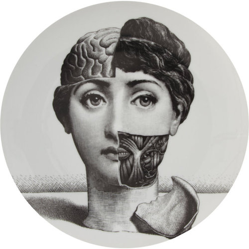 Fornasetti Theme & Variations Decorative Plate #189