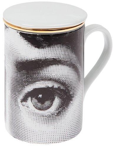 Fornasetti printed tea cup