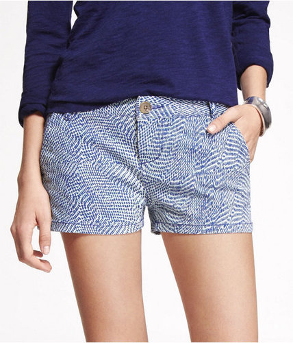 "2"" Printed Trouser Shorts"