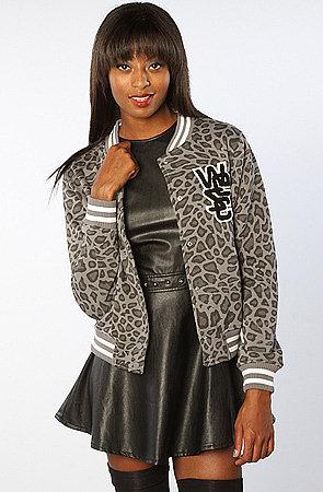 WeSC The Laika Fleece Jacket in Dark Shadow