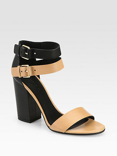 Vince Lana Leather Ankle Strap Sandals