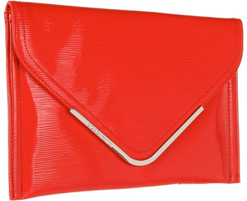 BCBGeneration - Beverly Envelope Clutch (Brick) - Bags and Luggage
