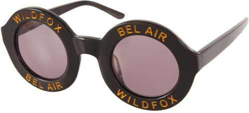 Wildfox Bel Air Round Sunglasses