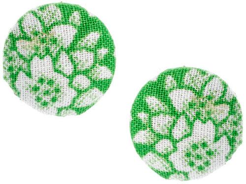People Tree Recycled Sari Stud Earrings