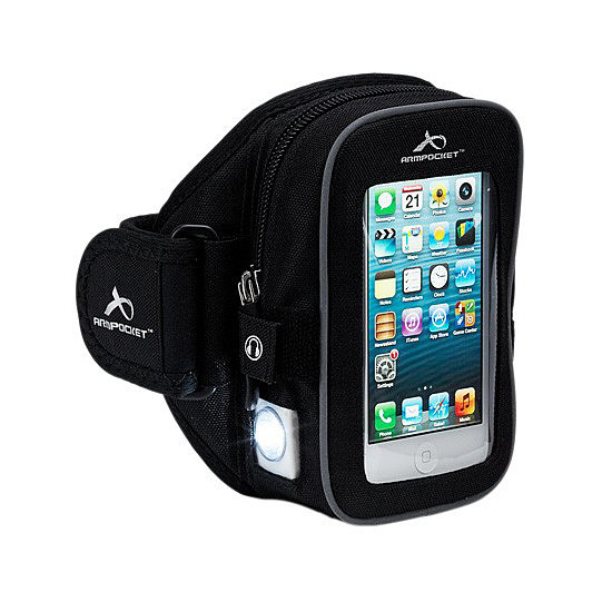 Just a few of the convenient features of the Armpocket armband ($50)? It's eco-friendly, machine-washable, and features a headphone port.