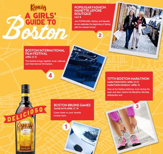 Kahlúa Girls Guide to Boston