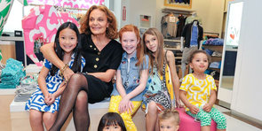 Diane von Furstenberg on Her Latest Collection For GapKids