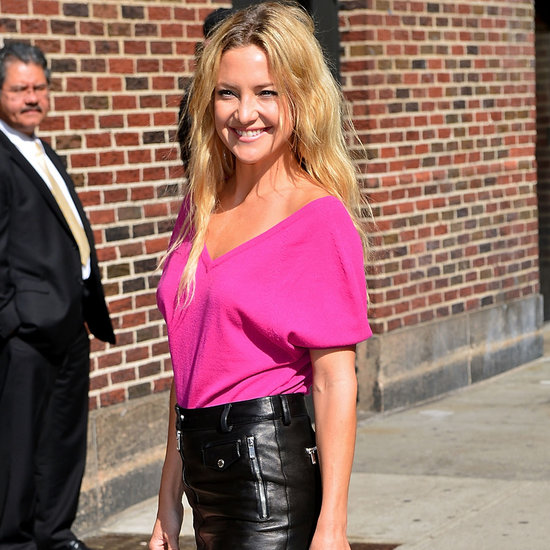 Kate Hudson at Late Show With David Letterman | Pictures