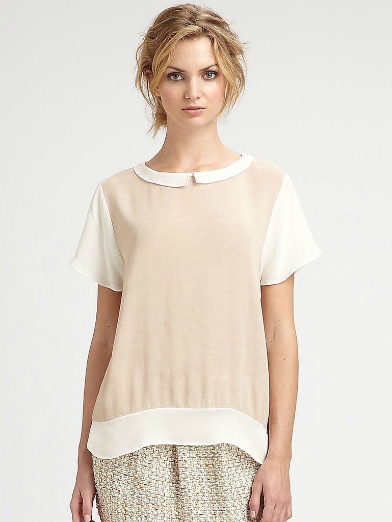 This By Malene Birger Silk Blouse ($365) perfectly captures that casual but still feminine feel of the '20s.