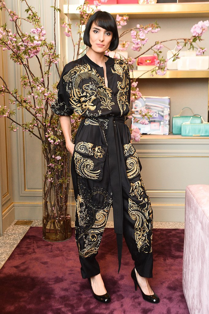 DJ Elle Dee at the Pucci book cocktail celebration in New York. Source: Joe Schildhorn/BFAnyc.com