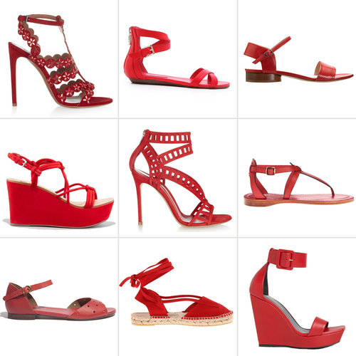 Red Shoes For Summer 2013 | Shopping