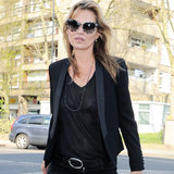 Kate Moss Shops For Vintage Looks in North London