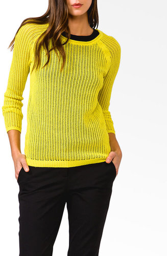 FOREVER 21 Essential Large Loop Sweater